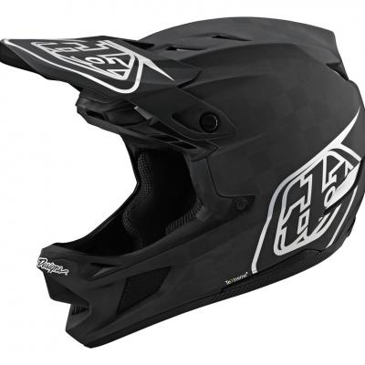 קסדת אופניים Troy Lee Designs stage d4 carbon stealth helmet BLACKSILVER